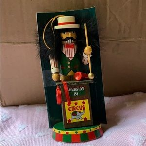 "5"" Circus 🎪 Admission Wooden Christmas ornament"